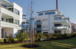 Tragwerksplanung Wohnanlage am Mühlbachbogen Rosenheim