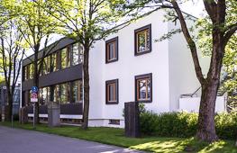 Teilgebäude der Hochschule Rosenheim