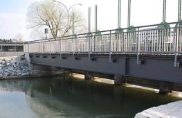 Tragwerksplanung Fuß- und Radwegbrücke Oberwöhr Rosenheim