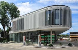 Büro- und Ausstellungsgebäude Rosenheim