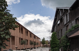 Hotelerweiterung in Holzmodulbauweise