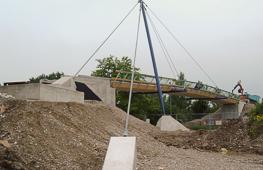 Tragwerksplanung Fuß- und Radwegbrücke München-Karlsfeld